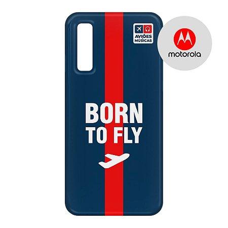 Capa para Smartphone Born To Fly - Motorola