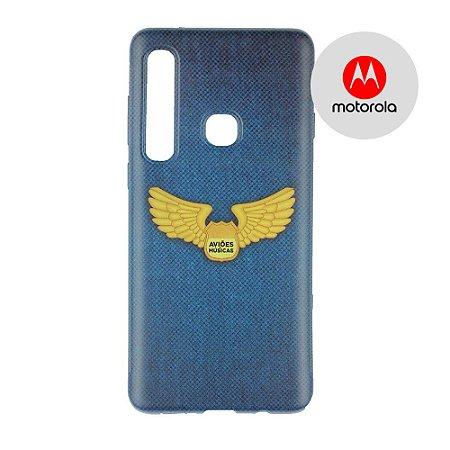 Capa para Smartphone Brasão Aviões e Músicas - Motorola