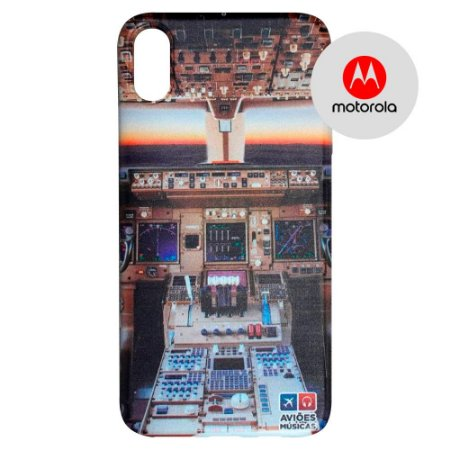 Capa para Smartphone Cabine em Voo - Motorola