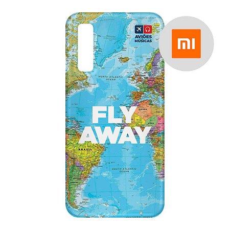 Capa para Smartphone Fly Away - Xiaomi - Aviões e Músicas