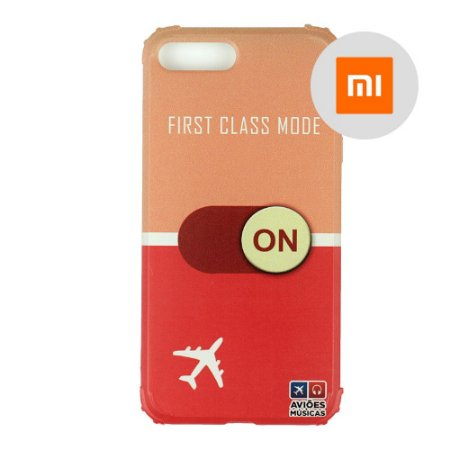 Capa para Smartphone First Class Mode On - Xiaomi