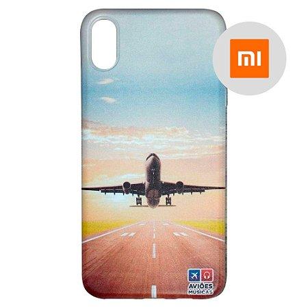 Capa para Smartphone Decolagem - Xiaomi - Aviões e Músicas
