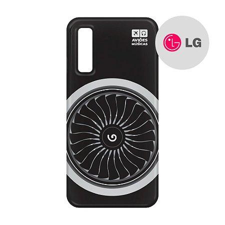 Capa para Smartphone Motor - LG Aviões e Músicas