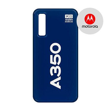 Capa para Smartphone A350 - Motorola - Aviões e Músicas