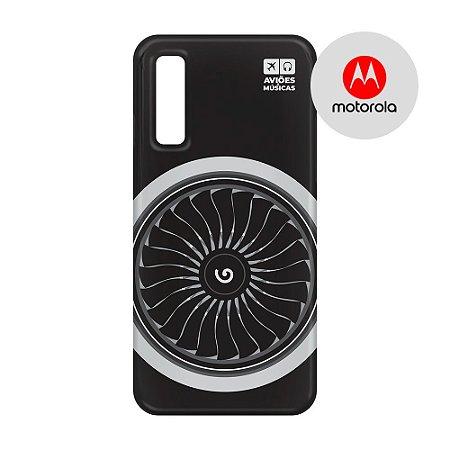 Capa para Smartphone Motor - Motorola - Aviões e Músicas
