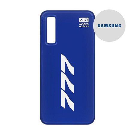 Capa para Smartphone 777 - Samsung - Aviões e Músicas