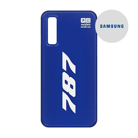 Capa para Smartphone 787 - Samsung - Aviões e Músicas