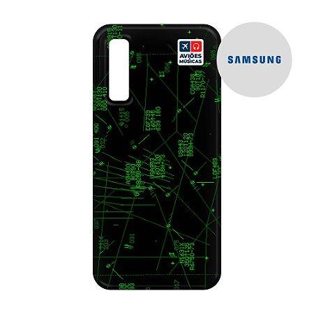 Capa para Smartphone Radar - Samsung - Aviões e Músicas