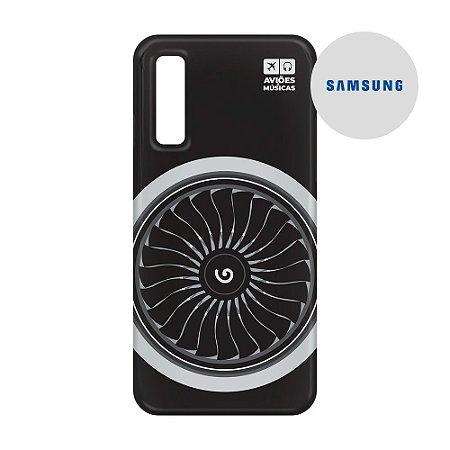Capa para Smartphone Motor - Samsung - Aviões e Músicas