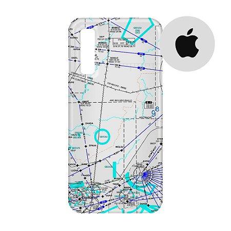 Capa para Smartphone Carta de voo 3 - Apple - Aviões e Músicas