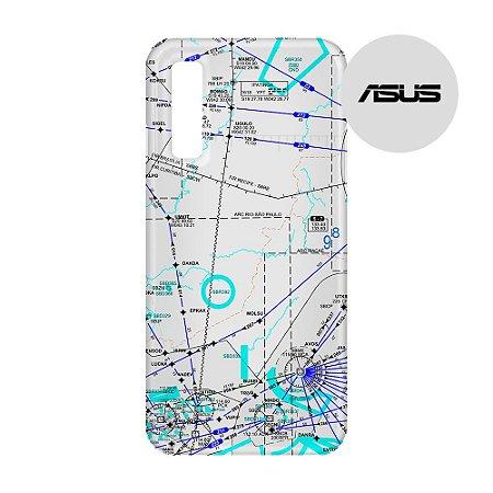 Capa para Smartphone Carta de voo 3 - Asus - Aviões e Músicas