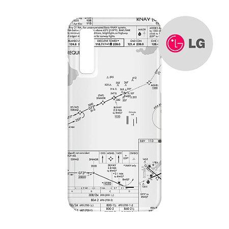 Capa para Smartphone Carta de voo - LG