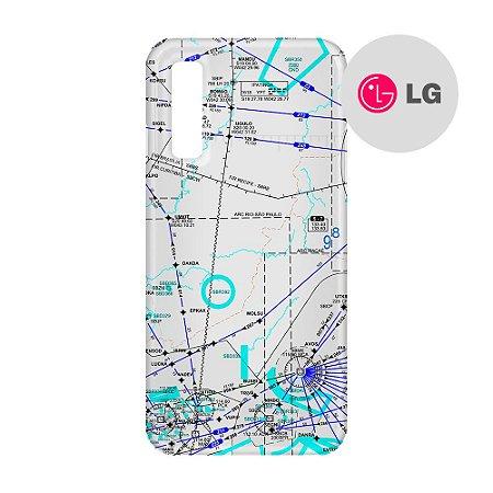 Capa para Smartphone Carta de voo 3 - LG Aviões e Músicas