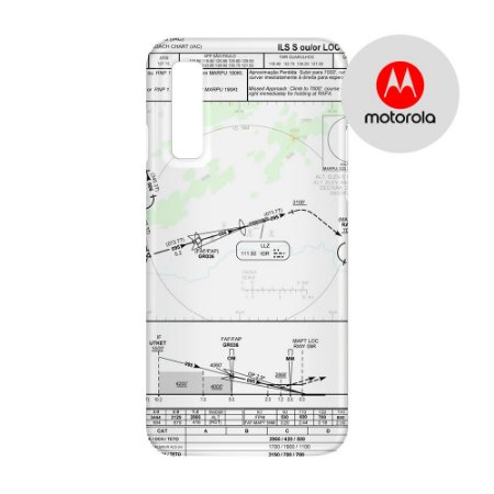 Capa para Smartphone Carta de voo 2 - Motorola - Aviões e Músicas