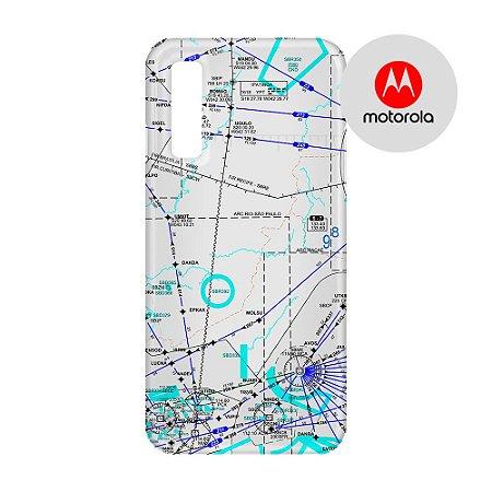 Capa para Smartphone Carta de voo 3 - Motorola - Aviões e Músicas