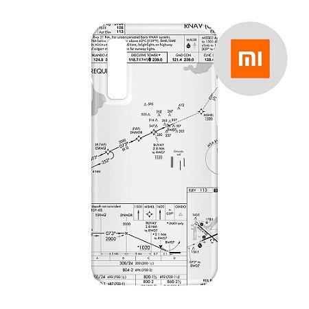 Capa para Smartphone Carta de voo - Xiaomi