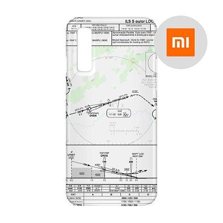 Capa para Smartphone Carta de voo 2 - Xiaomi - Aviões e Músicas