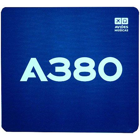 Mouse Pad A380 Aviões e Músicas