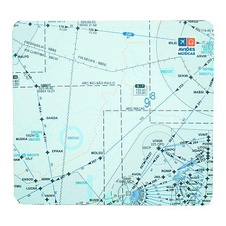 Mouse Pad Carta de voo 3