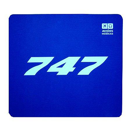 Mouse Pad747 Aviões e Músicas