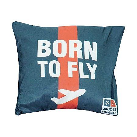 Capa Almofada Born To Fly