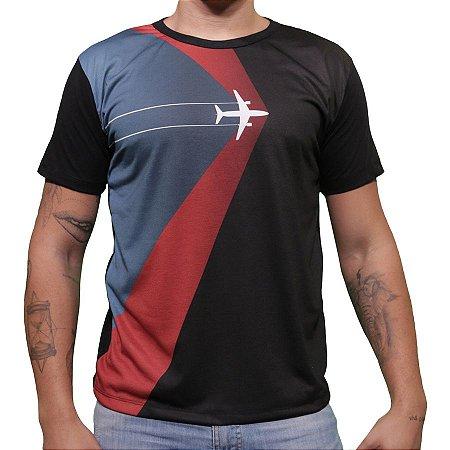 Camiseta Vinheta Aviões e Músicas