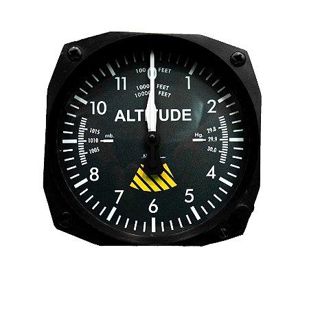 Relógio de parede Altímetro
