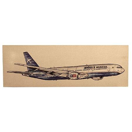 Painel Boeing 777 Aviões e Músicas Aviões e Músicas