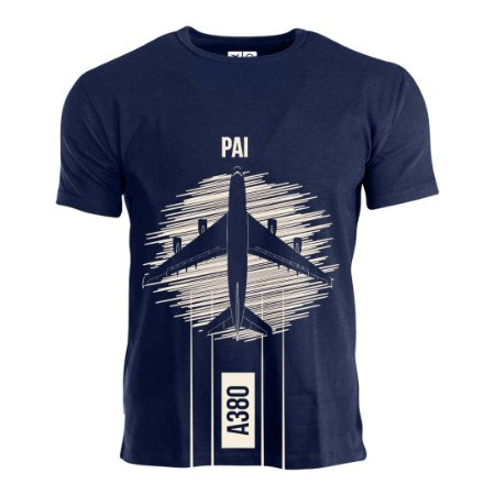 Camiseta Pai Aviões e Músicas