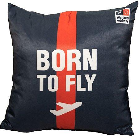 Almofada Born to Fly Aviões e Músicas