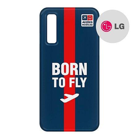 Capa para Smartphone Born To Fly - LG Aviões e Músicas