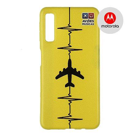 Capa para Smartphone Yellow - Motorola - Aviões e Músicas