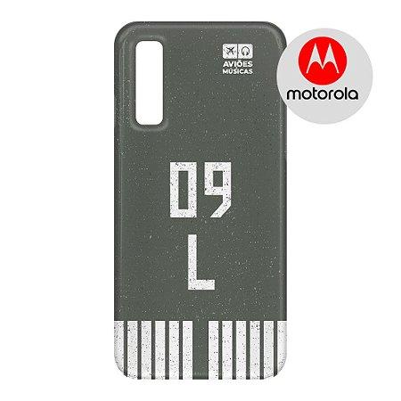 Capa para Smartphone Pista - Motorola - Aviões e Músicas