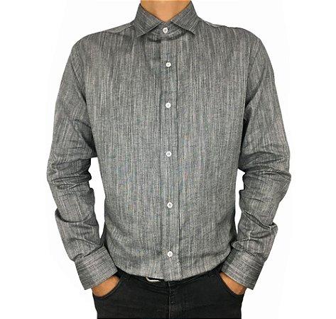 Camisa Social Masculina Tricoline Vilejack