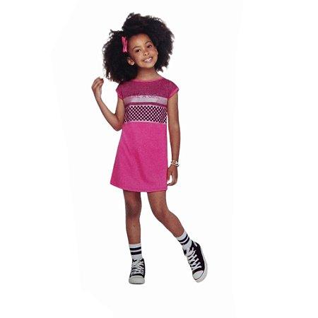 Vestido Infantil Feminino  Kely Kety