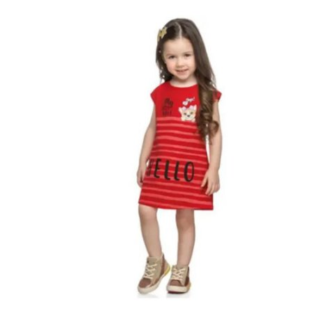 Vestido Infantil Kely  Kety