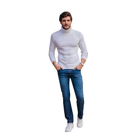 Calça Jeans Skinny Staroup Slim Fit Azul
