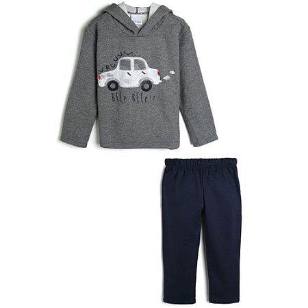 Conjunto Infantil Masculino com Capuz 1000064612 Malwee Kids