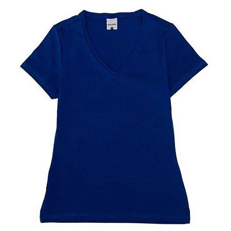 Blusa Baby Look Feminino Decote V 1000004503 Malwee