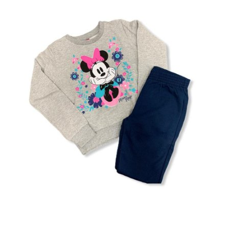 Conjunto Infantil Feminino Minnie Mouse P90123 Disney