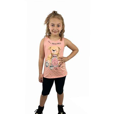 Conjunto Infantil Ursinho 11932136 Kely & Kety