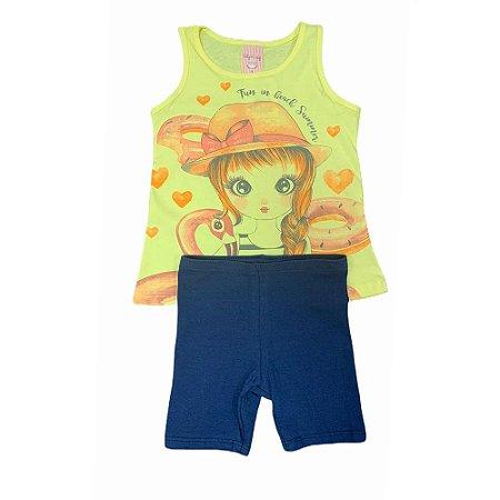 Conjunto Infantil Regata e Shorts 11932134 Kely & Kety