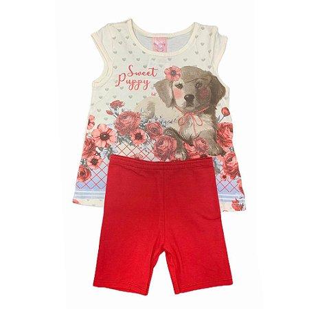 Conjunto Contton Sweet Puppy 11932135 Kely & Kety
