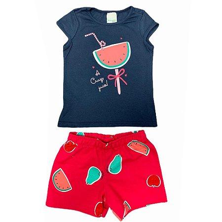 Conjunto Regata e Shorts Malwee Kids 1000069668
