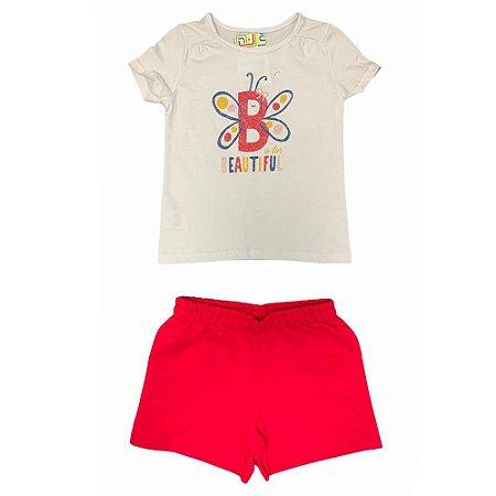 Conjunto Infantil Beautiful Malwee Kids 1000069705