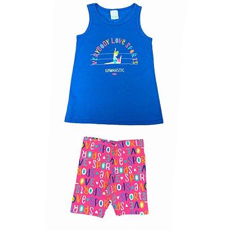 Conjunto Infantil Gymnastic Malwee Kids 1000069782