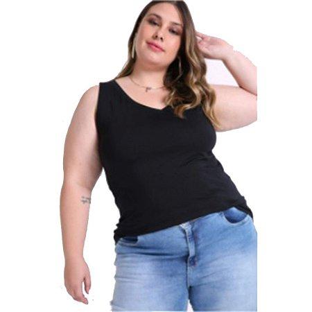Camiseta Regata Plus Size Feminina 1000077565 Malwee Wee