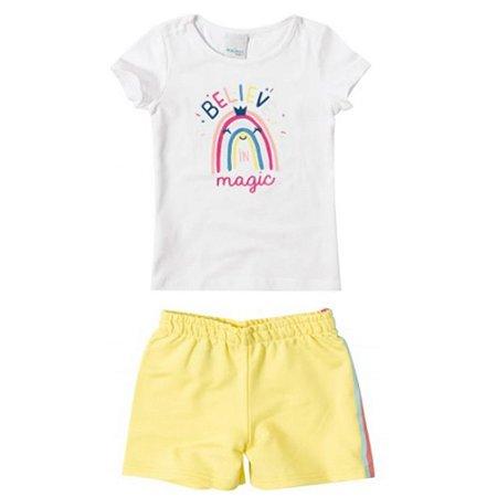 Conjunto Infantil Baby Look Estampada 1000074762 Malwee