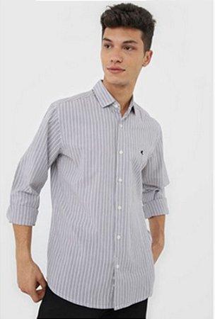 Camisa Masculina Listrada Manga Longa 1000058346 Malwee