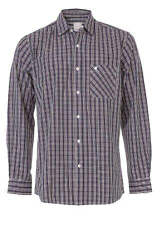 Camisa Masculina Xadrez Manga Longa 1000054140 Malwee